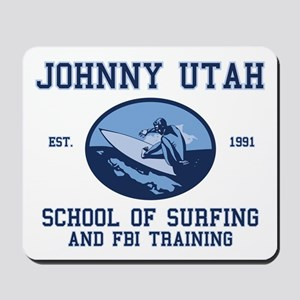 johnny utah surfing school Mousepad